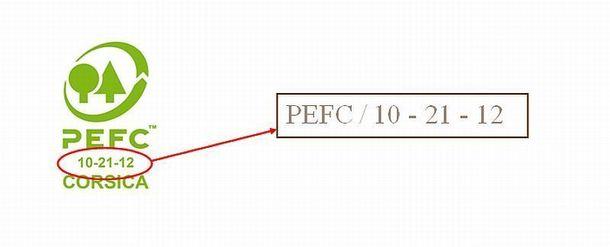 La marque PEFC