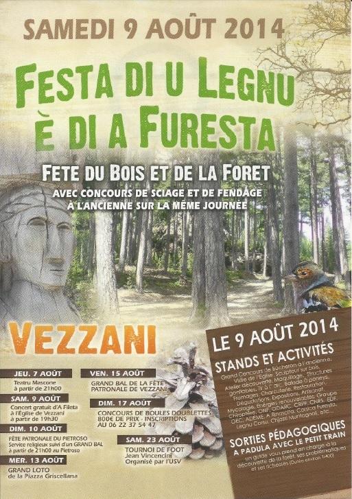 FESTA DI U LEGNU E DI A FURESTA 2014 -  VEZZANI
